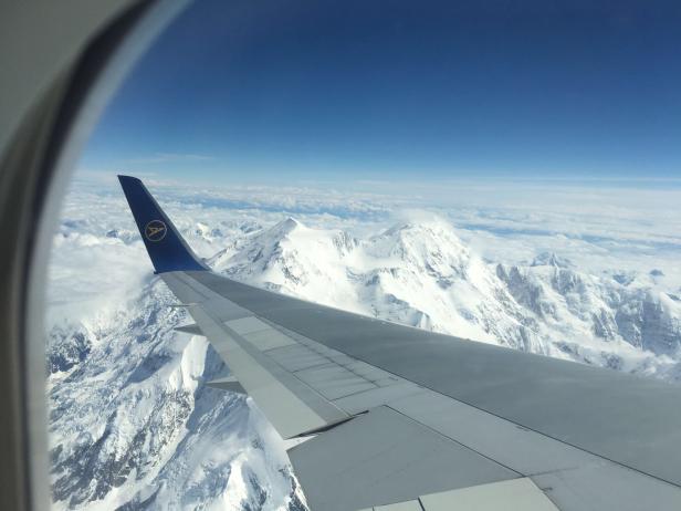 Denali from the air