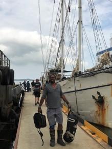 July disembarking